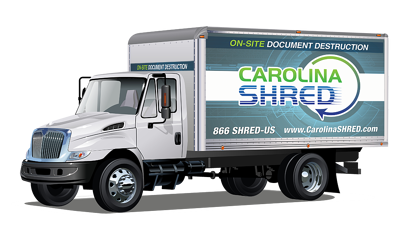 Mobile Shredding Service Truck Carolina Shred
